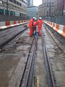 Work continues on High Street