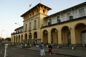 The facade of Addis Ababa Station