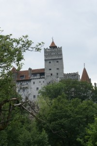 Bran Castle, the alleged home of Dracula