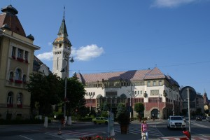 Palace of Culture, Tagur Mures