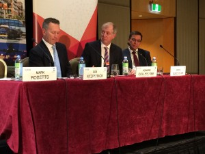 Photo of the CEDA Panel